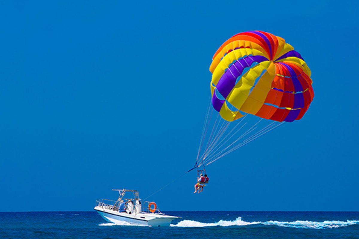 Sunshine Destin parasailing